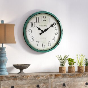 Affordable Oversized 24 Wall Clock by August Grove