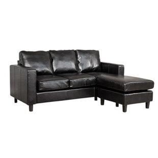 Corner Leather Sofa | Wayfair.co.uk