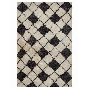 Reviews Belinda Shagy Oriental Hand-Tufted Black/Gray Area Rug ByEbern Designs