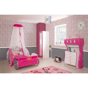 Princess Twin Sleigh Configurable Bedroom Set