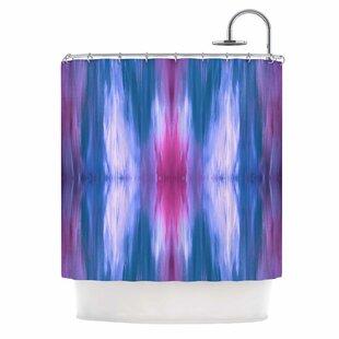 Ebi Emporium Butterfly Tribal 4 Single Shower Curtain