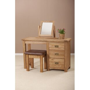 3 Drawer Dressing Table By Union Rustic