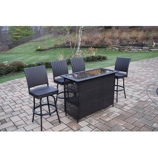 Parishville 5 Piece Bar Set