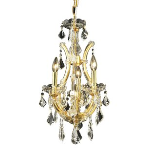 Regina 4-Light Candle Style Chandelier by House of Hampton