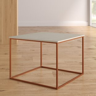 Reviews Florian Marble and Metal Coffee Table By Brayden Studio
