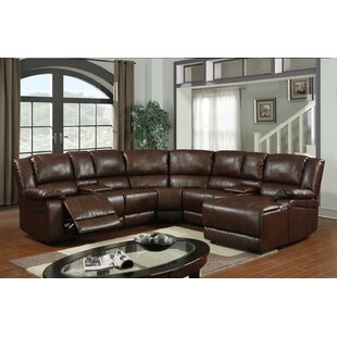 Check Prices Cadence Reclining Sectional by Wildon Home® Reviews (2019) & Buyer's Guide