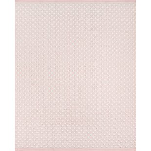 Langdon Windsor Hand Woven Wool Pink Area Rug
