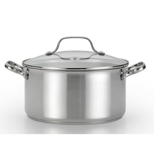 Performa 5 Qt. Stainless Steel Round Dutch Oven