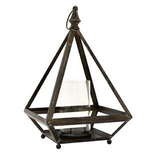 Gracie Oaks Metal Lantern