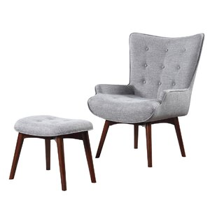 Scott Living Side Chair and Ottoman