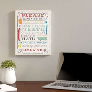 Framed Textual Wall Art Wayfair