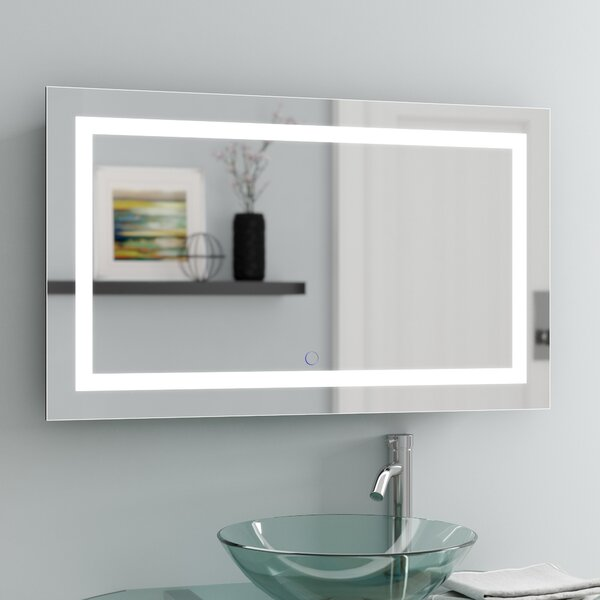 Lighted Framed Mirror Easy Home Decorating Ideas