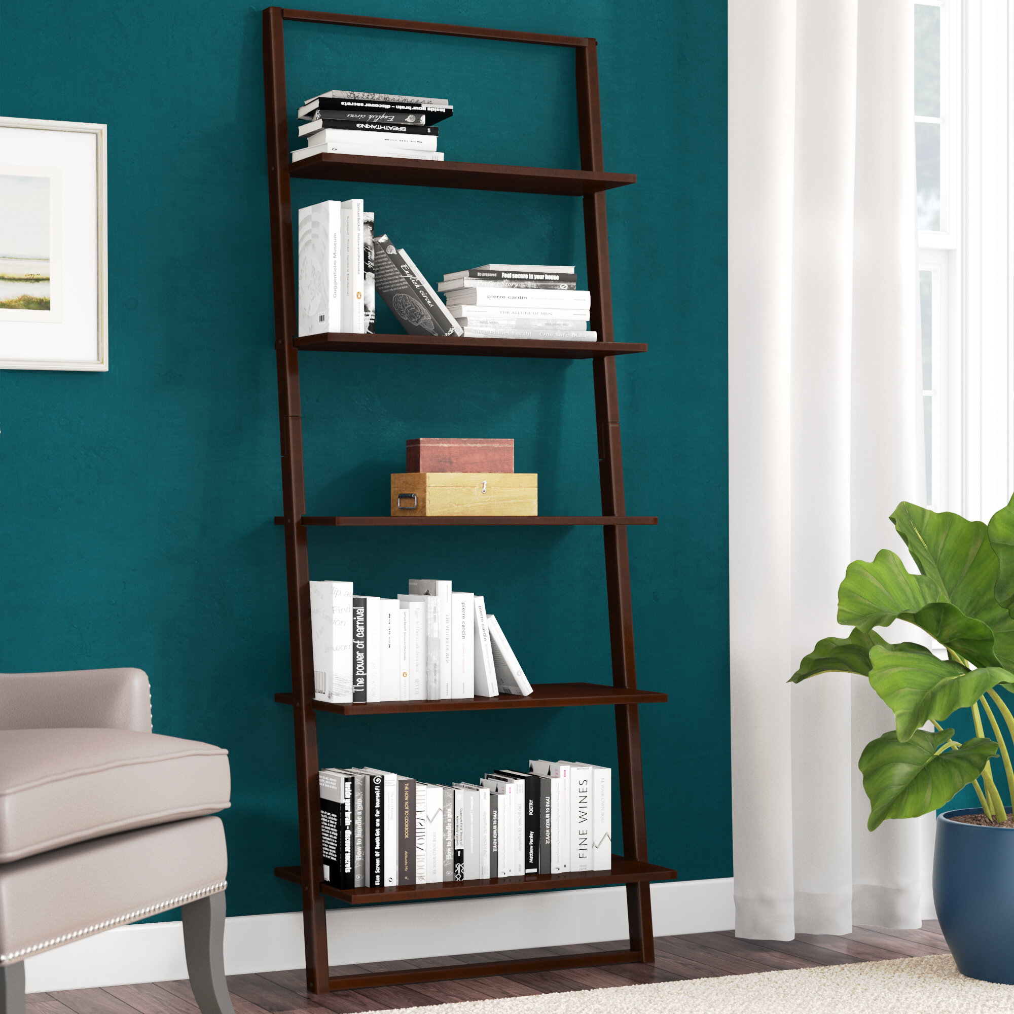 Pemberton Ladder Bookcase