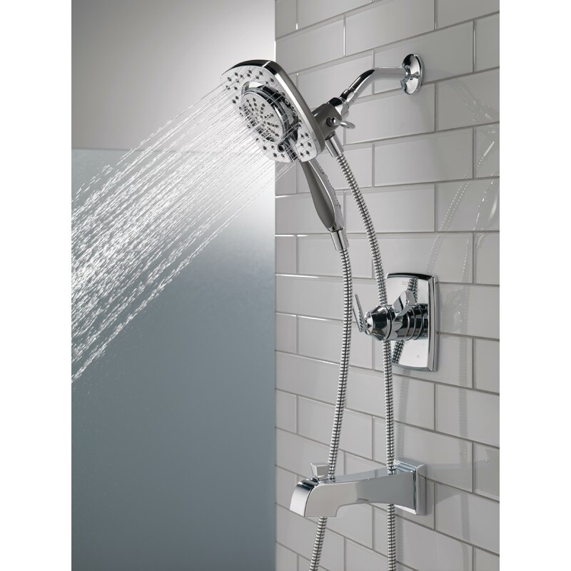 Delta Ashlyn Pressure Balance Tub and Shower Faucet Trim Kit with ...