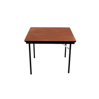 Folding Table Plywood Stained and Sealed Vinyl T Molding