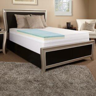 3 Gel Memory Foam Mattress Topper by Luxury Solutions
