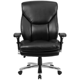 Latitude Run Pyron Leather Executive Chair