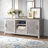 Orellana Solid Wood TV Stand for TVs up to 75 by Kelly Clarkson Home