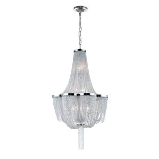Taylor 10-Light Chandelier by CWI Lighting