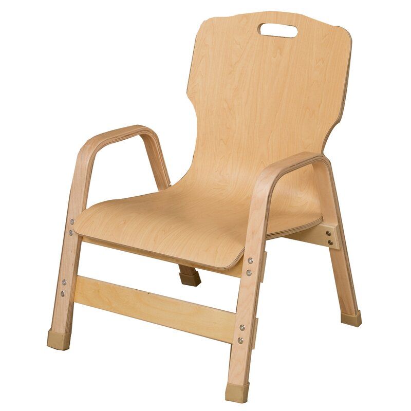 Healthy Kids Wood Classroom Chair