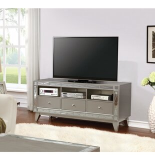 Legler Metallic TV Stand for TVs up to 50