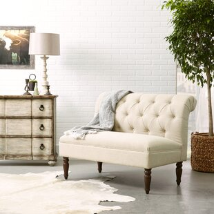 Chung Tufted Rolled Back Loveseat