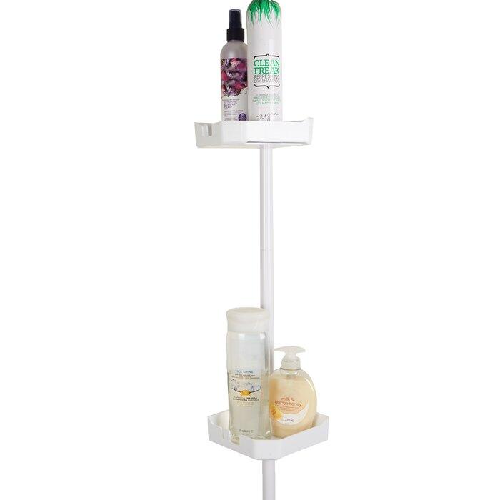 Mind Reader 3 Tier Bathroom Telescopic Shower Caddy | Wayfair.ca