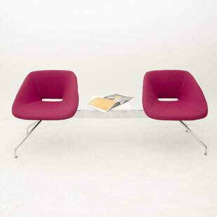 Red Tandem Seating by B&T Design