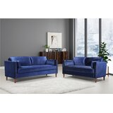 Wiesner 2 Piece Standard Living Room Set by Everly Quinn