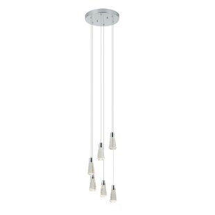 Southside 6-Light LED Cluster Pendant by Orren Ellis