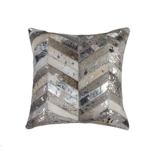 Cluff Cowhide Throw Pillow