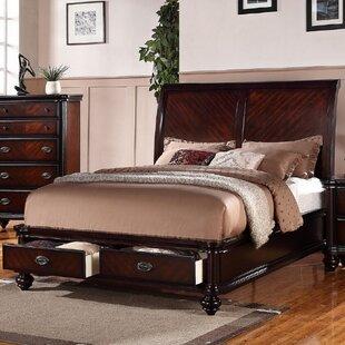 Farrer Storage Sleigh Bed by Astoria Grand