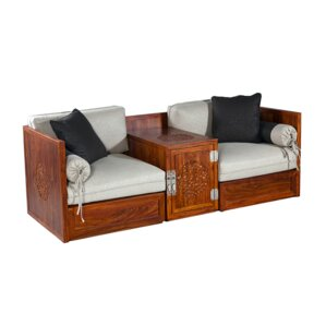 Gulzaar Chest Loveseat by Bloomsbury Market