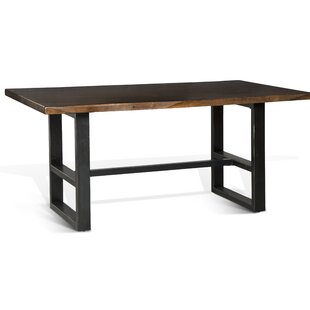 Shamane Solid Wood Dining Table by Gracie Oaks New Design