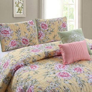 5 Piece Reversible Quilt Set