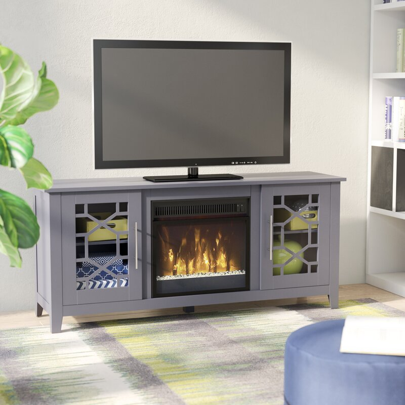 unit electric stand tv corner cheap heater media fireplace walmart stands