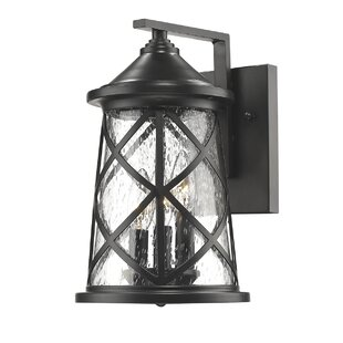Top Brands of Chloe 3-Light Outdoor Sconce By Gracie Oaks