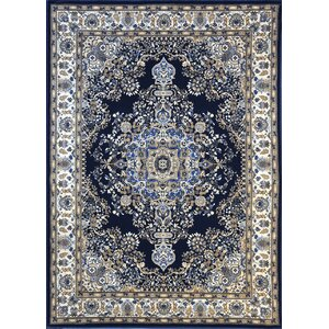 Piccadilly Dark Blue Area Rug