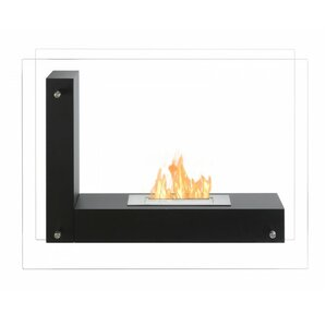 Vitrum L Freestanding Ventless Ethanol Fireplace by Ignis Products