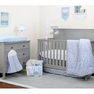 Advait 8 Piece Crib Bedding Set