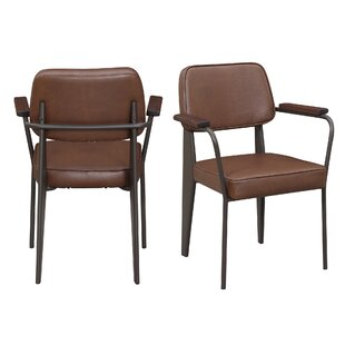Wrought Studio Barragan Upholstered Dining Chair (Set of 2)