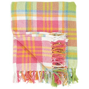 Elsa Plaid Cotton Throw