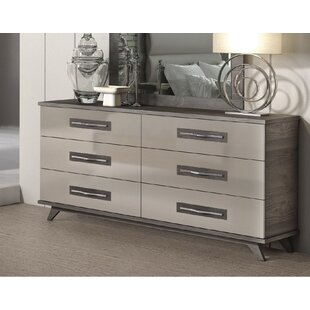 Cowden 6 Drawer Double Dresser