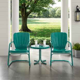 Lorenzo Outdoor Conversation 3 Piece Seating Group