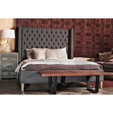 Webb Queen Upholstered Sleigh Bed by Gracie Oaks