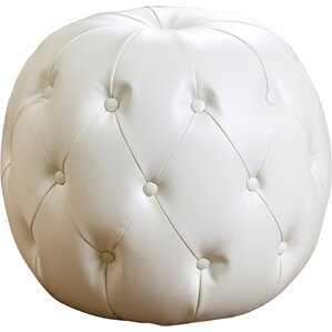 Lafond Leather Grand Ottoman by Darby Home Co