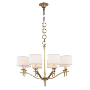 Everly Quinn Gwendolen 8-Light Shaded Chandelier