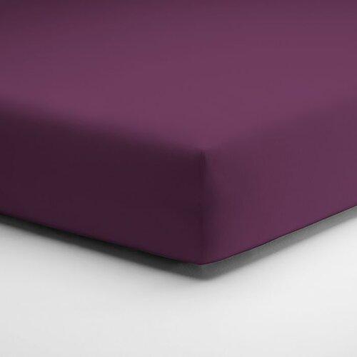 Spannbettlaken Mikrofaser-Fein-Interlock schlafgut Farbe: Beere  Größe: 140-160 x 200 cm   Heimtextilien > Bettwäsche und Laken > Bettlaken   schlafgut
