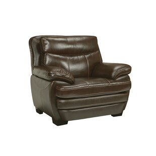 Red Barrel Studio Suber Leather Club Chair