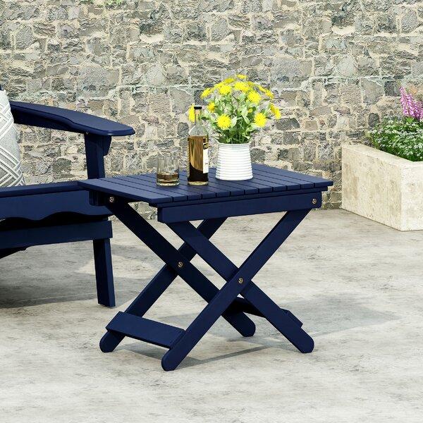 Outdoor Folding Side Table Wayfair